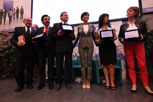 Ritira il premio per EmPULIA il dott. Domenico Console dirigente della Regione Puglia