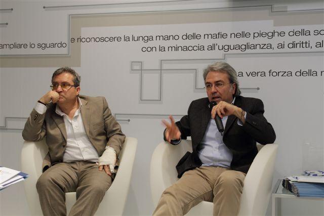 Antonio Lamberti (Dirigente Direzione Provveditorato ed Economato, Provincia di Napoli) - Nicola Lopane (Dirigente Servizio Affari Generali Regione Puglia)